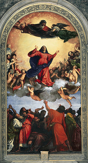 Titian, The Assumption of the virgin,